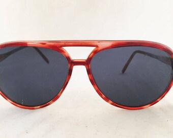 Sunglasses -Brown Tortoise Shell Aviator with nose bridge by Disney Korea