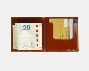 NEN Minimalist Bi-fold Money Clip Wallet