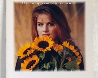 Trisha Yearwood The Song Remembers When Sheet Music Book - Piano/Vocal/Chords
