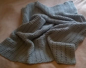Chunky Crochet Blanket - Made to Order - Choice of Colour