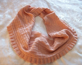Handknit Cowl in EcoWool