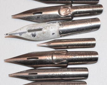Lot of Vintage Fountain Pen Nibs