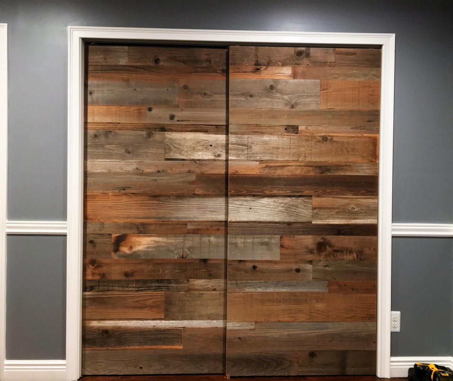 Reclaimed barn door reclaimed wood sliding door reclaimed zoom vtopaller Gallery