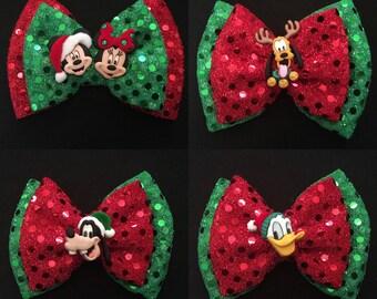 Disney Christmas Bow