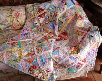 Think Spring lap quilt
