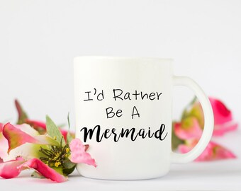 Mermaid Coffee Mug, Funny Coffee Mug, Coffee Mug, Hawaii Coffee Mug, Birthday Gift, Wedding Gift, Bridal Shower Gift, Coffee Mug, Cute Mug