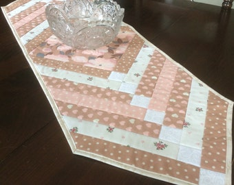 French Braid Hearts Table Runner