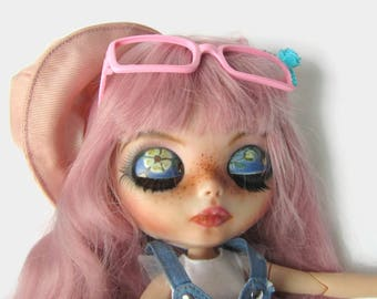 Custom Blythe Dolls For Sale by Blythe Factory Doll, Fully Customized Blythe, OOAK Doll, Pink hair Blythe, Collectible Doll, Gift for Collectors, Blythe Collection