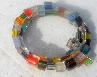 Cane Glass Bracelet