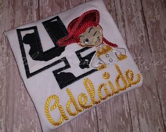 Toy Story Jessie Birthday Shirt