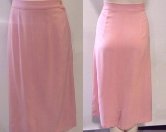 1940's Classic Pink Skirt