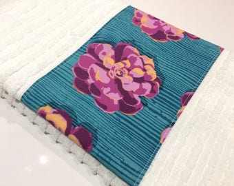 dish towel, hand towel, hostess gift, housewarming gift, modern, pretty towel.