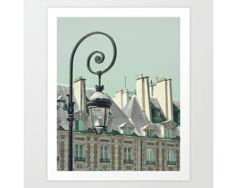 SALE Paris photography, Paris print, Paris photos, Paris wall art, Paris photo, mint wall art, Paris canvas art,Paris decor,Place des Vosges