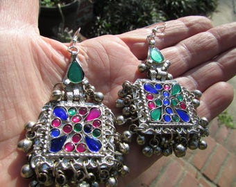 Pair of Tribal Kuchi Earrings