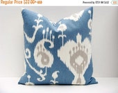 15% Off Sale Blue Ikat Pillow Pillow Sets Ikat Pillow Cover Pillow Covers Decorative Pillows For Couch Blue Throw Pillow Cushion Covers Acce