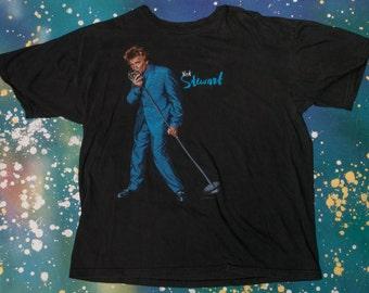 ROD STEWART Rock T-Shirt Size Xl