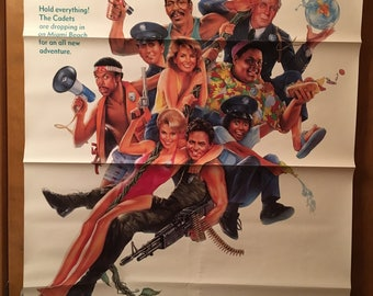 Movie poster, Police Academy 5, 1988