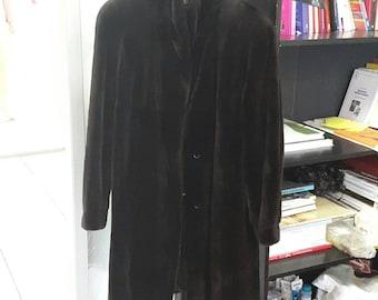 Balenciaga ranched mink fur coat luxury!!!