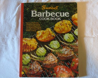 Sunset Barbecue Cookbook, August 1986