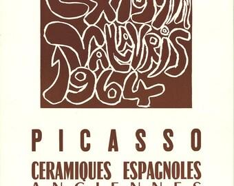 Pablo Picasso-Spanish Ceramics-1964 Lithograph