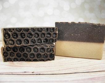 INDULGENCE goat milk soap/chocolate soap/soap bar /bar soap/oatmeal soap/handmade soap/gift women/cold process/wholesale soap/woman gift