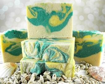 Bamboo & Grapefruit sea salt soap/salt bar/goat milk soap/homemade soap/gift women/wholesoap soap/soap favors/sea salt scrub bar