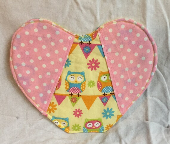 Owl Heart Iven Mitt/pot holder