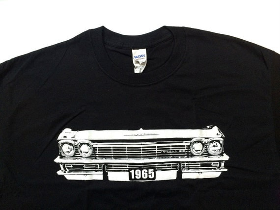 1965 chevy impala ss t shirt. Black Bedroom Furniture Sets. Home Design Ideas