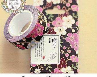 Blossoms Washi Tape - So pretty for your planner & art journal pages!