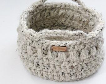Storage basket, Crochet basket, Home decor- Organizing tools- Baby storage, Modern basket, Modern home accessories