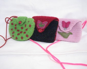 Felt Pouch/Coin Purse