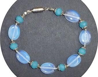 Moonstone and Topaz bracelet