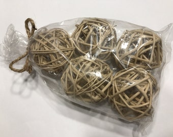 Bag of 5 Branch Balls, 50 mm (BR)