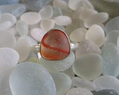Size 7.5 Sea Glass Ring