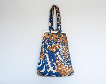 FOUND IN SPAIN -- fabulous graphic handbag