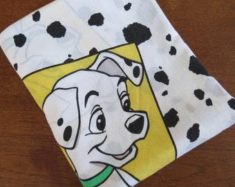 Vintage Sheet - 101 Dalmatians - Single or Twin Sheet - Childrens Sheet
