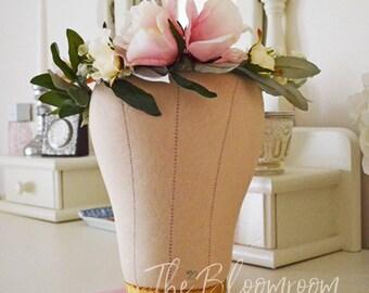 Olive leaf crown / Light pink crown / Cream rose / Flower crown / Woodland wedding / Wedding hairpiece / Wedding crown / Rustic head wreath