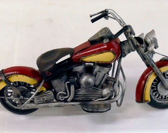 Vintage Hand Crafted Motorcycle