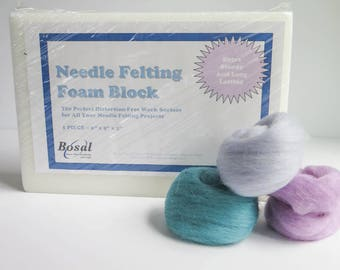 "Needle Felting Foam Block - 9"" x 12"" x 2"""