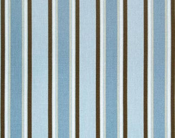 SUMMER SALE! Designer Striped Curtains, Nursery Baby Room Decor, Curtain Panels, Morgan Mist Putty shown, YOU Choose Fabric