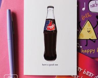 Thums Up Have A Good One! - Birthday Greetings Card