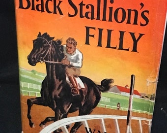 "Vintage Books ""The Black Stallion Series"" Hardback Children's Classics 1950's Books"