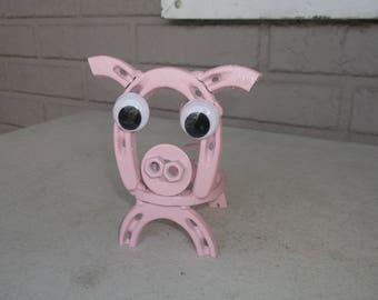 Horseshoe Pig, Horseshoe Art