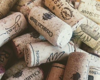 Bulk Wine Corks | Sets of 20 | No Synthetic | Used Corks | Craft Project Supplies