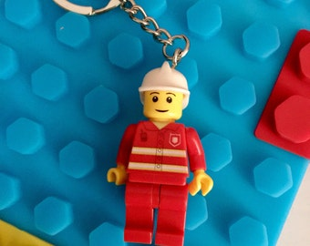 Lego Style Key Ring and Free Note Book