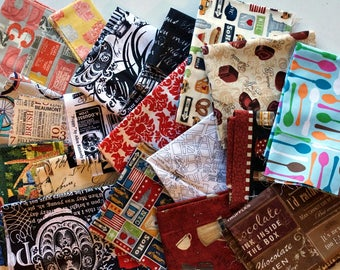 Quilting Scrap Fabric Pack -  Quilter's Cotton - Novelty