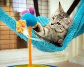 Kitty Beds - Cat Hammock PDF Pattern - Corner Cat Hammock - Cat Stuff