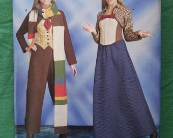 Simplicity 8200: Women's Doctor Who inspired costumes