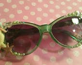 Mermaid sunglasses, mermaid shades, kitsch sunglasses
