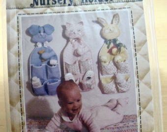 Free shipping! Nursery Holder by Patch Press. Baby room organizer pattern